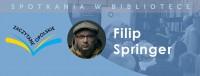 """Spotkanie autorskie z Filipem Springerem (""""Zaczytane opolskie"""")"""